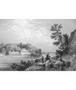 PHILADLEPHIA Fairmont Waterworks Schuylkill River - CIVIL WAR Era Print - $39.60
