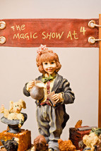 Boyds Bears: The Amazing Bailey... Magic Show at 4 - First Edition/3180 - #3518 image 2
