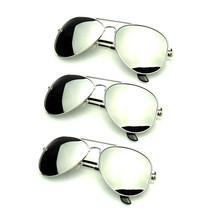 Bundle Of Sunglasses In Bundles 3 Pairs Pack Silver Mirror Polarized Men... - $26.48