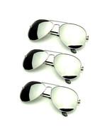 Bundle Of Sunglasses In Bundles 3 Pairs Pack Silver Mirror Polarized Men... - $27.05