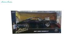 Jada Toys Fast Furious 1:24 Diecast 1970 Dodge Charger Street - $34.13