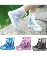 Silicone Rain Shoes Cover Rain Shoes Protector Anti-slip TkEasymx (M, Blue) - $21.78