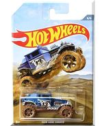 Hot Wheels - Baja Bone Shaker: Off-Road Trucks #6/6 (2019) *Blue / Walmart* - $3.50