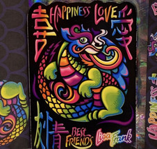 Lisa Frank Stationery Dragon Love Happiness DreamWriters Envelope Notepad & more image 2