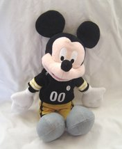 Mickey Mouse NFL Pittsburgh Steelers Plush Stuffed Animal Mouse Footbal... - $18.99