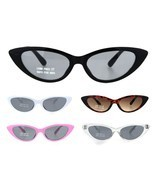 Child Size Girls Mod Gothic Cat Eye Retro Plastic Sunglasses - £7.85 GBP