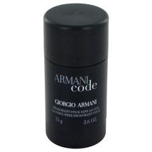 Armani Code by Giorgio Armani Deodorant Stick 2.6 oz for Men #454027 - $33.34