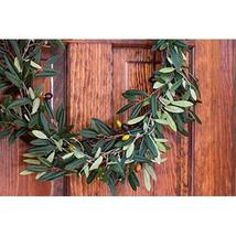 Nearly Natural 4773 Olive Wreath, 20-Inch, Green image 3