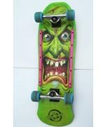 Santa Cruz Rob Roskopp IV Face Skateboard Green Slime Balls NICE Wes Kremer - $376.10