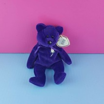 1997 Ty Beanie Baby Princess Diana Purple With Tags and Protector 1997 - $12.87