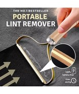 Lint Remover Clothes Fuzz Shaver Reusable Double Sided Travel Brush Tool  - $24.65