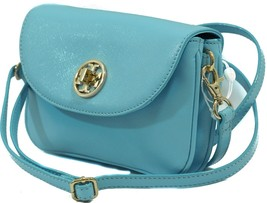 NWT TORY BURCH Robinson Crossbody Clutch Bag, Blue - $209.00
