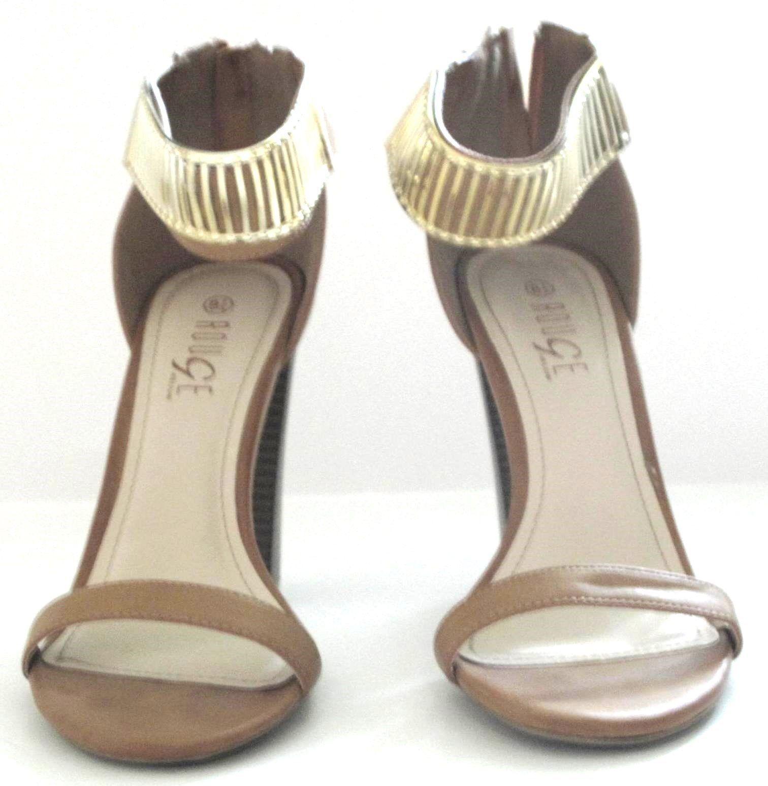 c300dfe07adc Rouge Helium Tan Open Toe Sandals