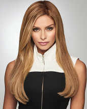 """Gilded 18"""" By Raquel Welch Human Hair Topper Hairpiece *All Colors* Mono New - $755.01"""