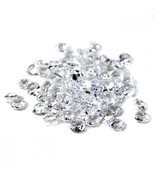 3200pc Clear Diamond Table Confetti Wedding Bridal Shower Decor 4 Carat ... - $176,46 MXN