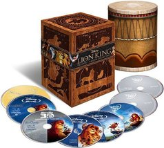Disney The Lion King Trilogy (Eight-Disc Combo: Blu-ray 3D / Blu-ray / DVD)
