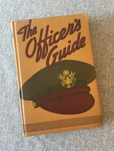 The Officer's Guide hardcover book, 9th edition, 1942