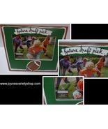 "FUTURE DRAFT PIC Football Wood Photo Frame 4""x 6"" NIB - $11.99"