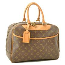 LOUIS VUITTON Monogram Deauville Hand Bag M47270 LV Auth cr198 - $450.00