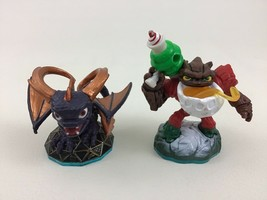 Skylanders Figure Lot Life Jolly Holiday Bumble Blast Magic Mega Ram Spyro - $12.42