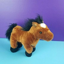 "Ganz Webkinz Plush Brown Arabian Horse HM101 Stuffed No Code Pony 10"" #A11 - $9.89"