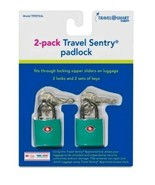 Travel Smart Luggage Padlock - Sky Blue  - $7.99