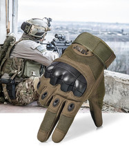 Tactical Gloves Motorcycle Full Finger Outdoor Cycling Combat Hard Work ... - $33.50 CAD