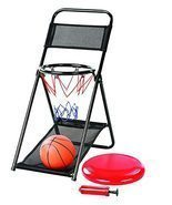 Slam Dunk 2 in 1 Mini Basketball with Hoop, Frisbee Game Set with Dual F... - $29.99