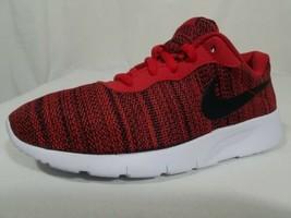 Nike Tanjun GS Running Shoes Size 5.5Y Women's Size 7 University Red 818... - $38.60