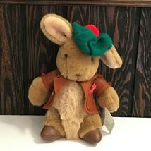 "Eden Toys Benjamin Bunny Beatrix Potter Plush Stuffed Animal 9"" Vtg 1987 - $29.69"