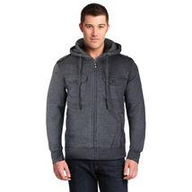 Niko Sportswear Men's Multi Pocket Fleece Lined Hooded Zip Up Jacket BJH-01 image 9