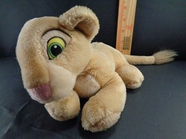 THE Lion King Simba Lion Disney Laying Down Plush Stuffed animal toy doll - $11.38