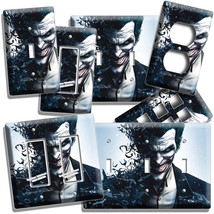 The Joker Batman Comics Light Switch Outlet Wall Plate Cover Boys Bedroom Decor - $9.99+