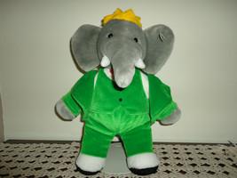 Gund Babar the Elephant Stuffed Plush 14 inch - $86.85