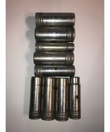 """S-K 1/2"""" Drive 9 Pc Deep Socket Set 12 Point Made in USA 40820 40828 408... - $93.49"""