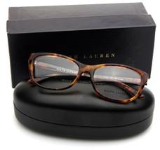 New Ralph Lauren Rl 6137 5017 Shiny Havana Eyeglasses Frame 54-16-135mm W/ Case - $78.39