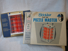 RARE Vintage 1960's Milton Bradley Stickler for the Puzzle Master Game - $40.00