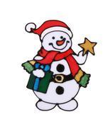 (01)Christmas Snowflake Wall Sticker Silicone Glass Sticker Large Window... - $14.00