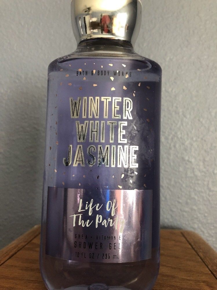 Primary image for Winter White Jasmine Bath & Body Works Shower Gel Body Wash New