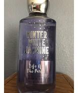 Winter White Jasmine Bath & Body Works Shower Gel Body Wash New - $8.79