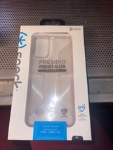 Speck Presidio Clear S20 Plus case with grips NEW - $14.85