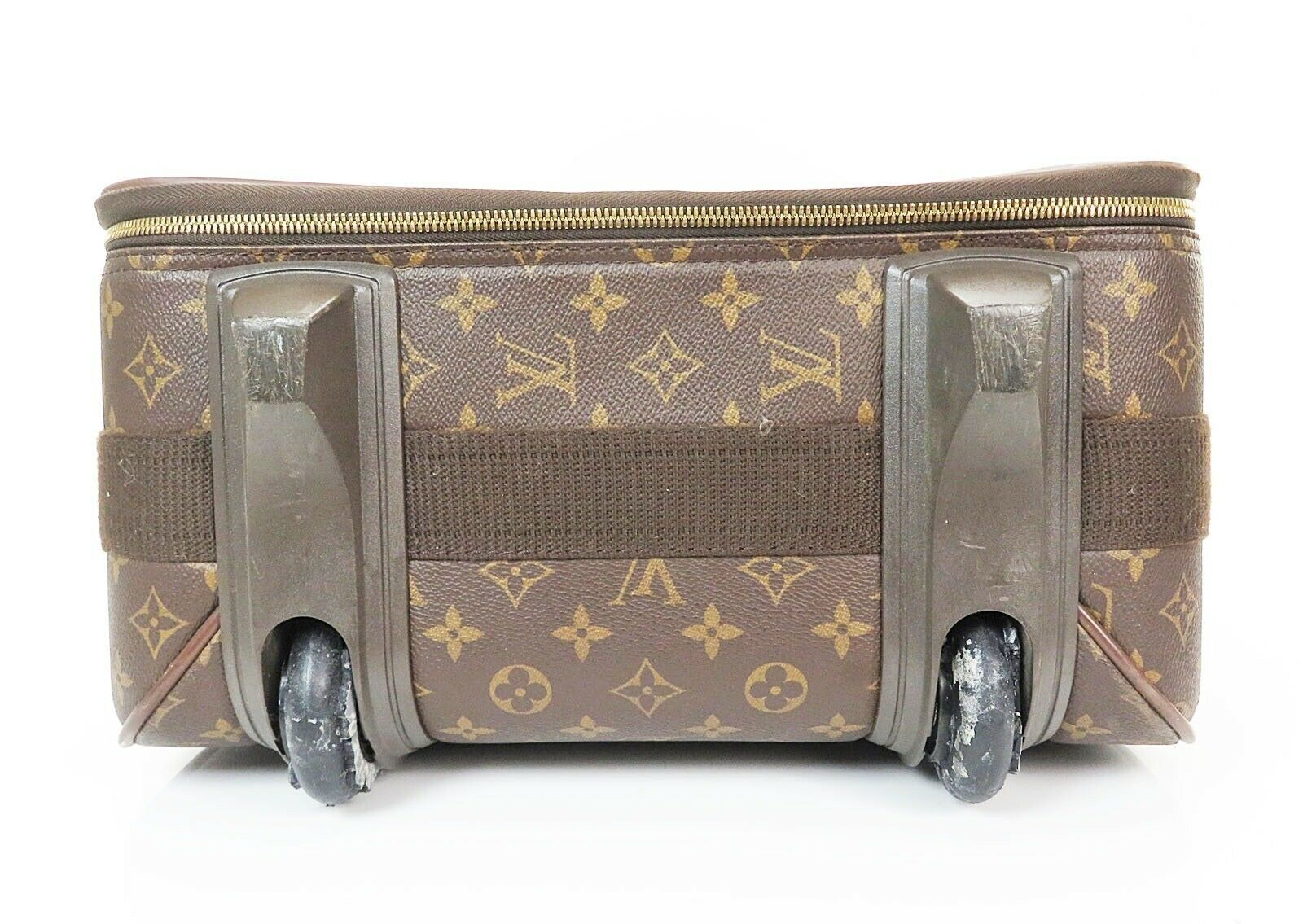 Authentic LOUIS VUITTON Pegase 55 Monogram Canvas Travel Rolling Suitcase #32952