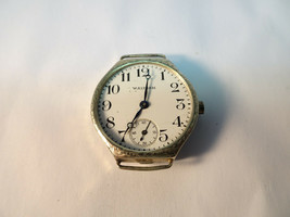 Porcelain Dial Waltham Fahys Bristol 25 Year Case Watch For Restoration Or Part - $92.64