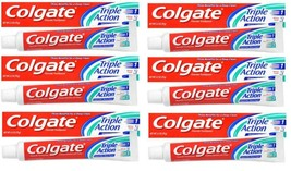 Colgate Triple Action Original Mint Fluoride Toothpaste 7.8oz - 226g (Pa... - $19.99