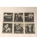 1966 Topps Get Smart Quiz Cards trading cards lot of 6 numbers 6 10 57 6... - $10.00