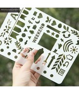 KEVIN&SASA® Laser Cut Bullet Journal Accessory Notebook Quality Set Diary - $4.82