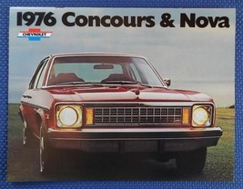 1976 Chevrolet NOVA Concours SS Color Sales Brochure - MY LAST ONE! - $9.50