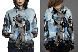 Hoodie Zipper womens Star Wars Tropers - $46.70+