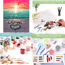 Diy Paint By Number Kit-Ritoti 16X20 Inch Canvas Oil Painting Drawing Pa... - $11.46
