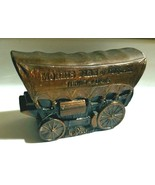 Covered Wagon Coin Bank, Morris Plan of California Thrift Loans-  Banthrico - $10.86 CAD